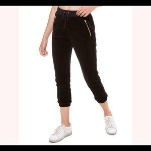EUC Juicy Couture Black Velour Silverlake Pant
